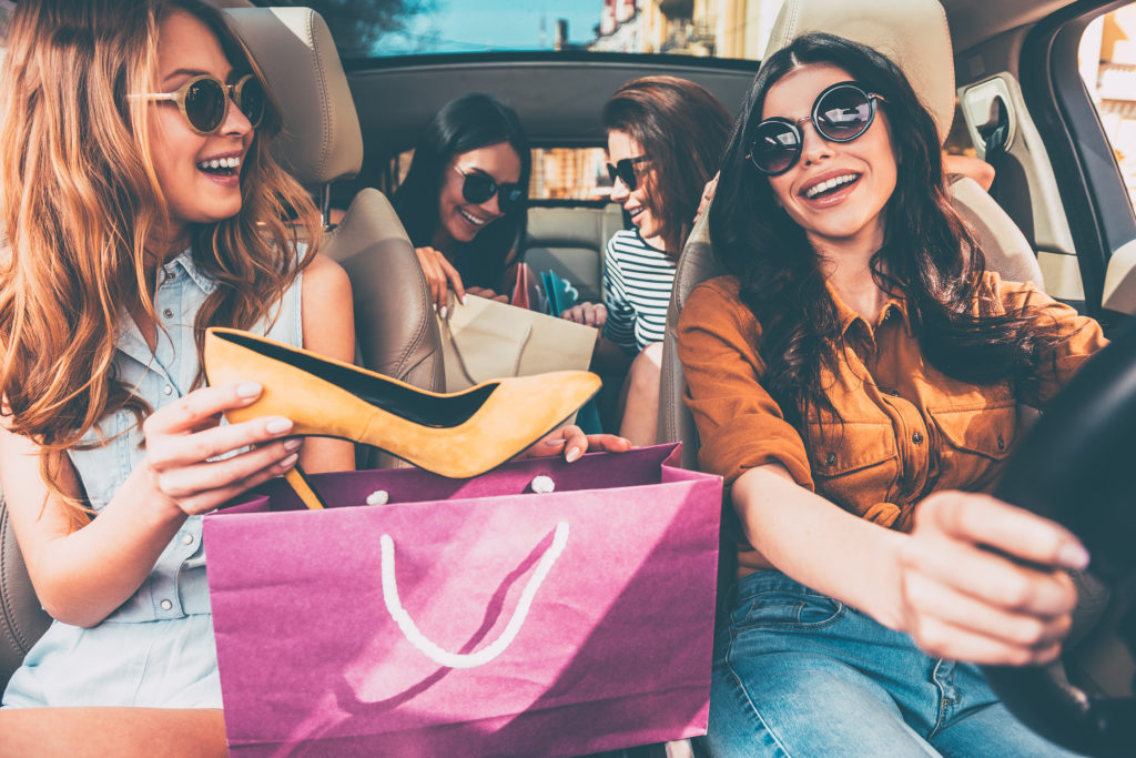 Kobiety kochają zakupy!