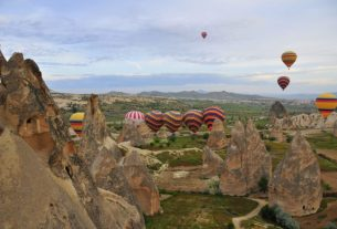 Kapadocja – perła środkowej Turcji